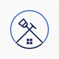 Cleaning House Logo Template