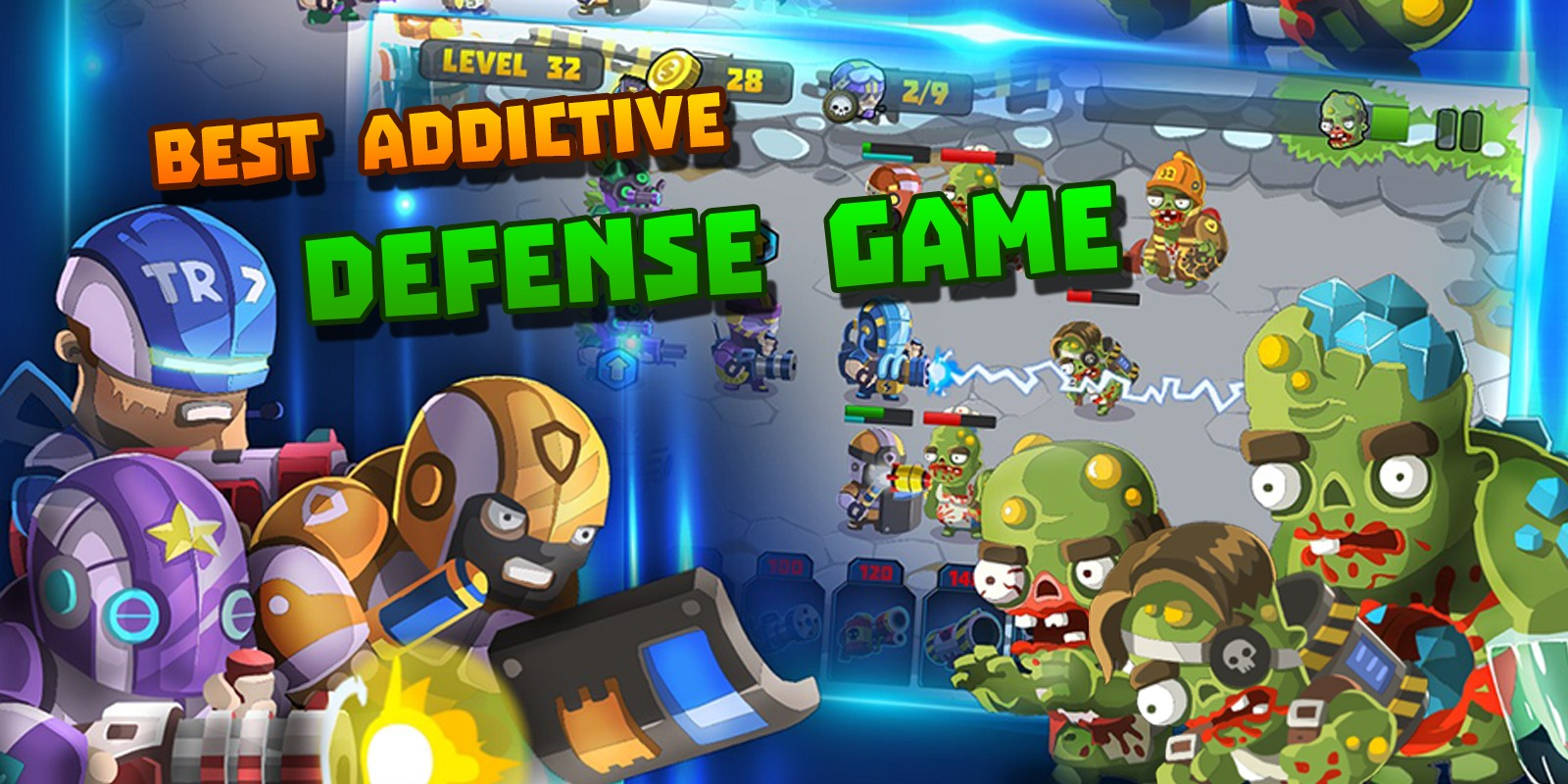 Squad vs Zombies - Unity Defense Game Template