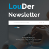 louder-responsive-email-template
