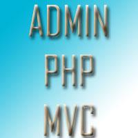Admin PHP MVC Application