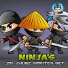ninja-game-sprites-set