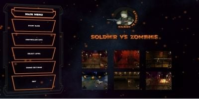 Soldier vs Zombies Unity Source Code