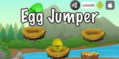 Egg Jumper Unity Game With Admob