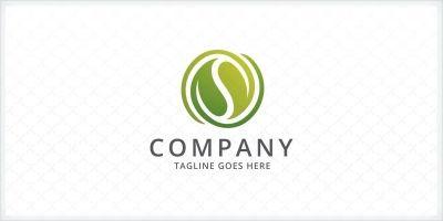 Pure Leaf Logo Template