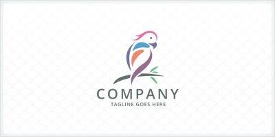 Parrot Bird Logo Template