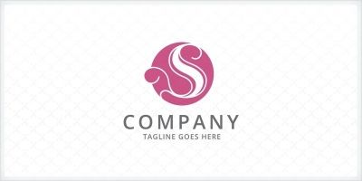 Stylized Letter S Logo Template