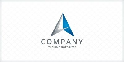 Arrow - Letter A Logo Template