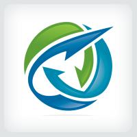 Elevate Arrow Logo Template