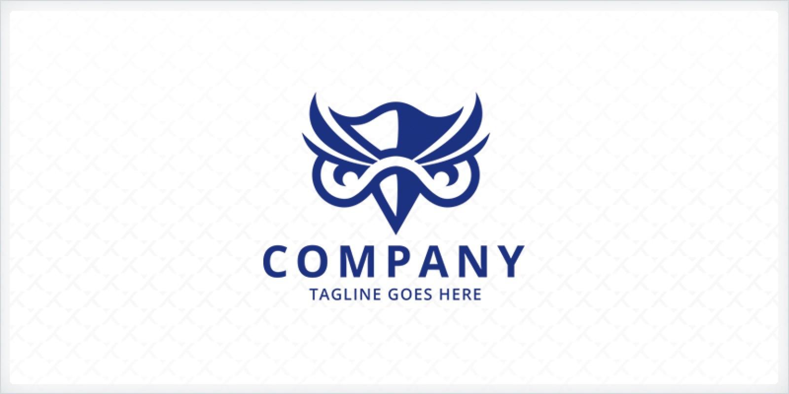 Nerd Owl Logo Template