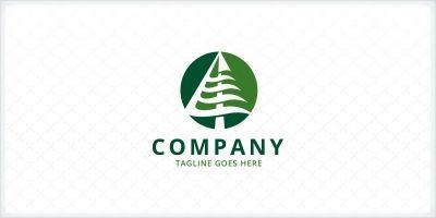 Ocean Pine Logo Template