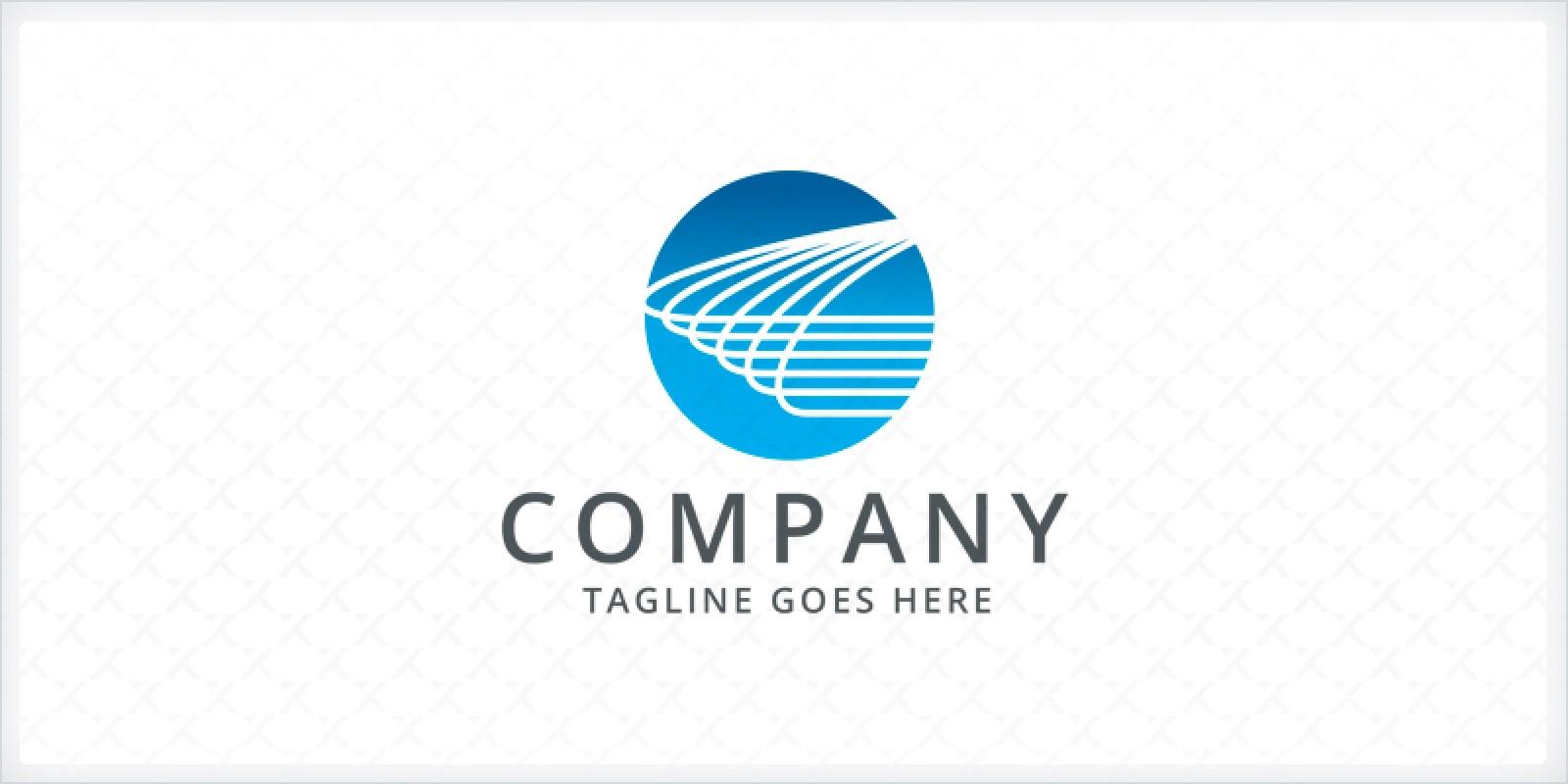 Wire Logo Template