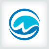 wave-letter-w-logo-template