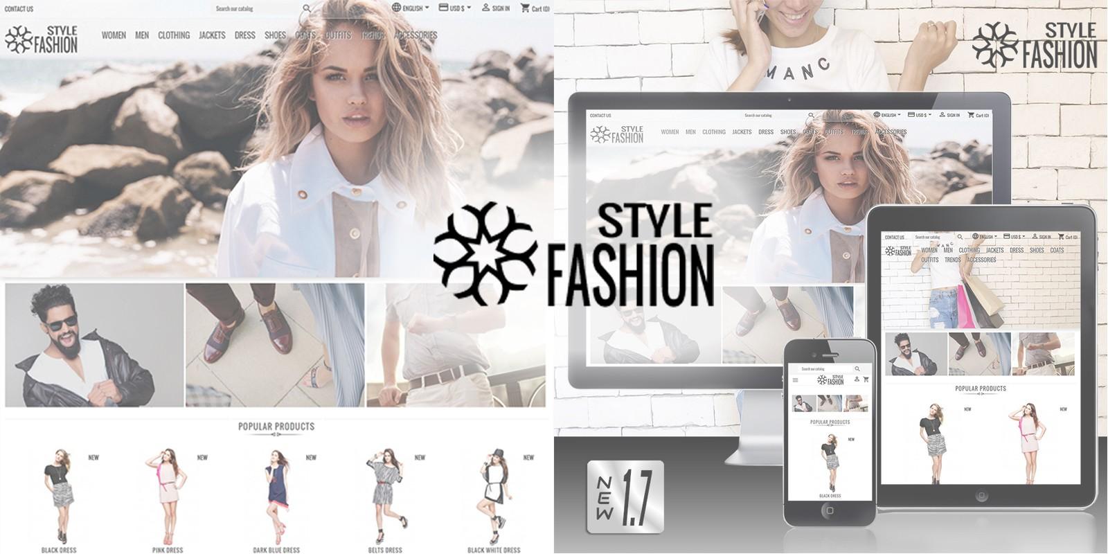 Classic Style Fashion PrestaShop Theme