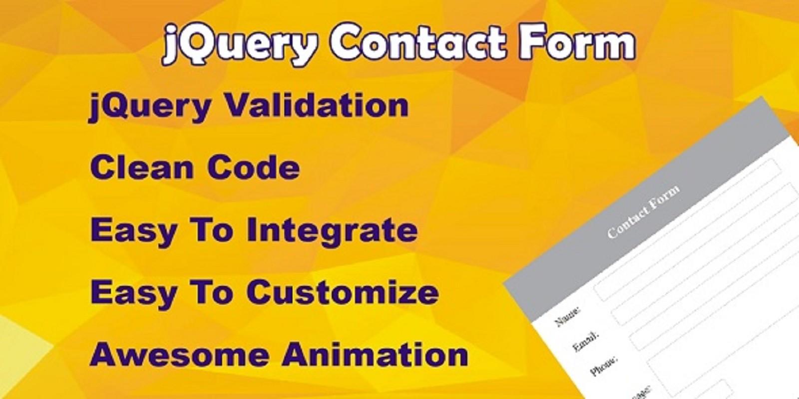 Jquery Contact Form