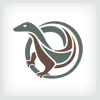 lizard-logo-template
