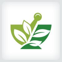 Mortar and Pestle - Pharmacy Logo Template