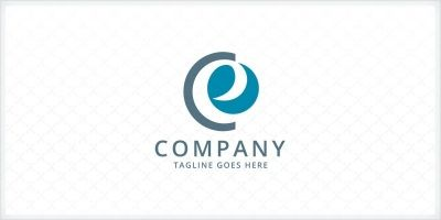 Letters CE Logo Template