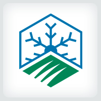 Lawn Care and Snow Removal Logo Template