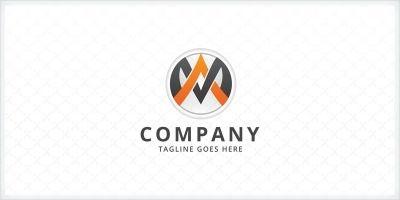 Letters MA Logo Template