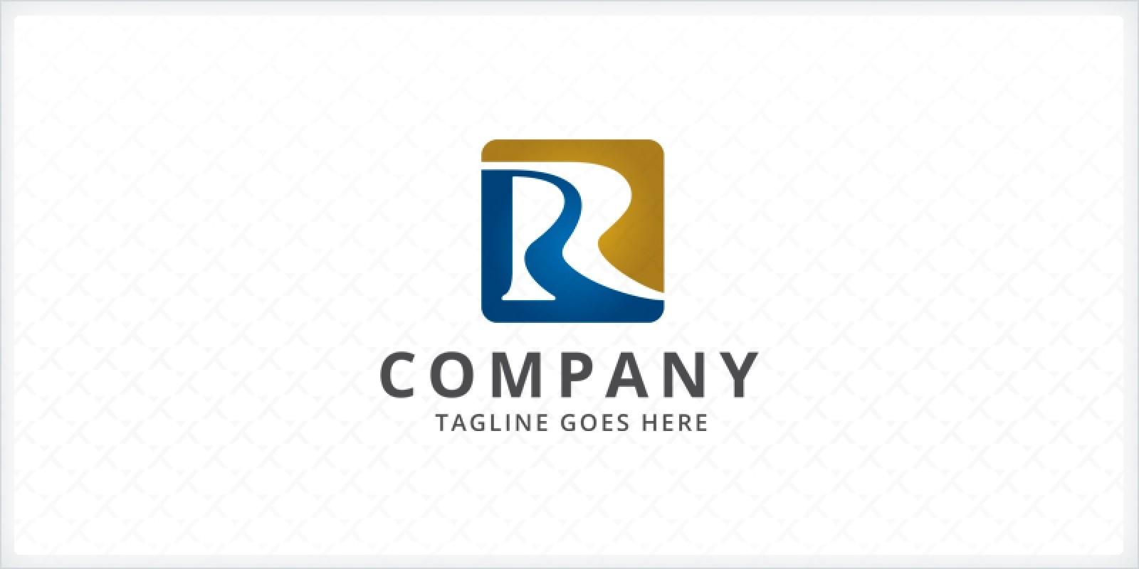 River Path - Letter R Logo Template