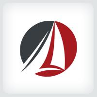 Sailboat Logo Template
