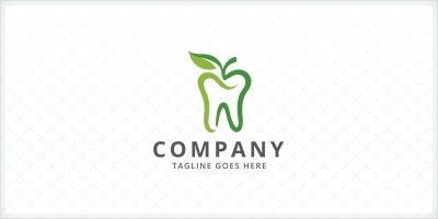 Apple Tooth - Dental Logo Template