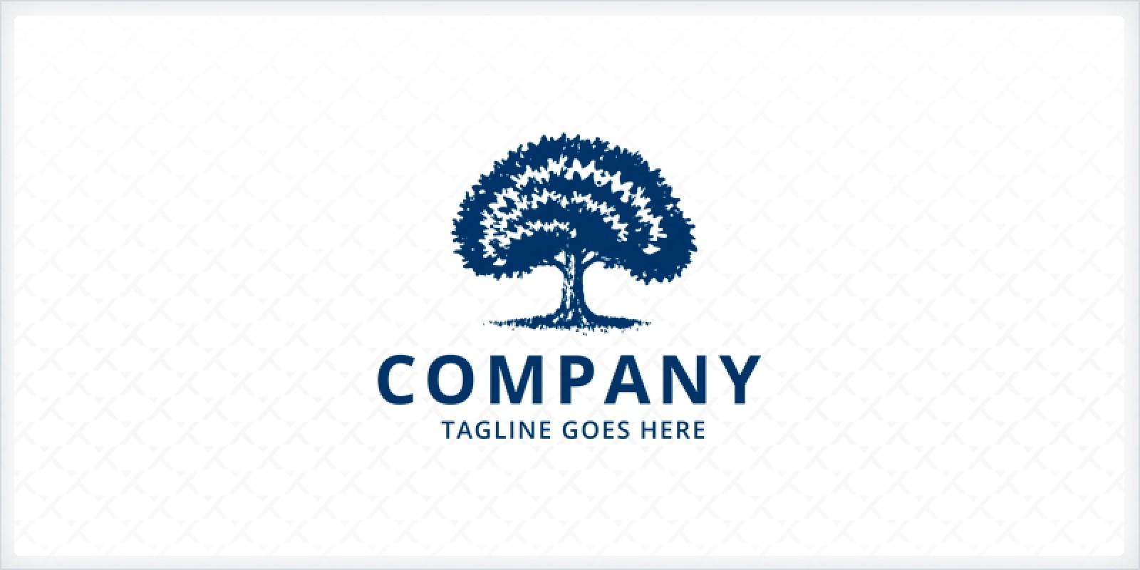Oak Tree Logo Template