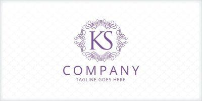 KS Letter Logo Template