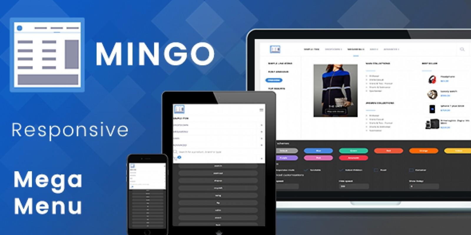 Mingo - Responsive Jquery Mega Menu Plugin