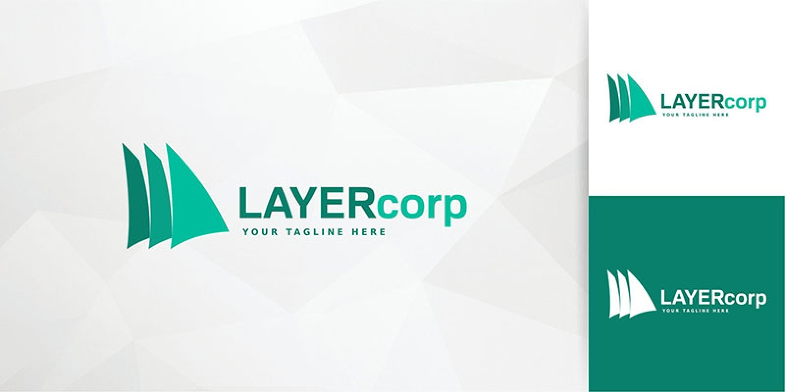 Layer Corp Logo Template