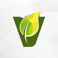 Vege Leaf Logo Template