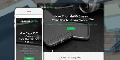 Mobile Repair Center Wordpress Theme