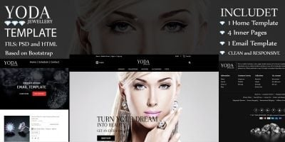 Yoda - Jewelry Shop HTML Template