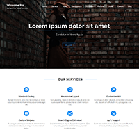 Winsome Pro WordPress Theme