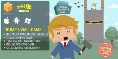 Trumps Wall - BuildBox Game Template
