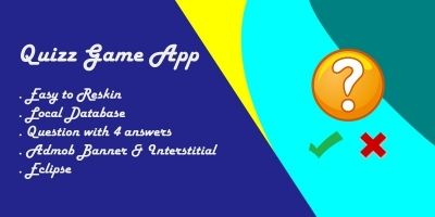 Quiz Game App - Android Source Code