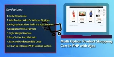 Multi Option Product Shopping Cart