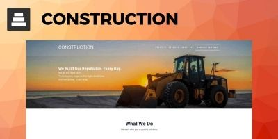 SitePoint Construction WordPress Theme