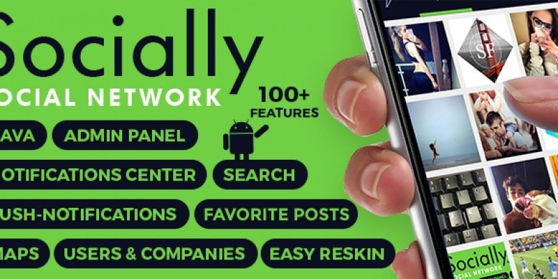 Socially - Social Network Android Source Code by