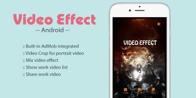 Video Effect On Video - Android App Source Code