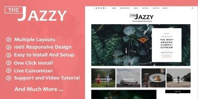 Jazzy WordPress Theme