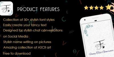 Fancy Text Generator - iOS Source Code