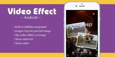 Video Effect On Image -  Android Source Project