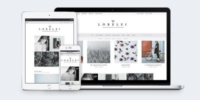 Lorelei - Nordic Blog And Shop WordPress Theme