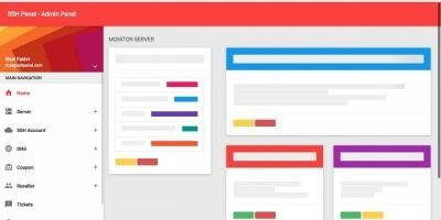 SSH Panel - SSH Account Selling Platform