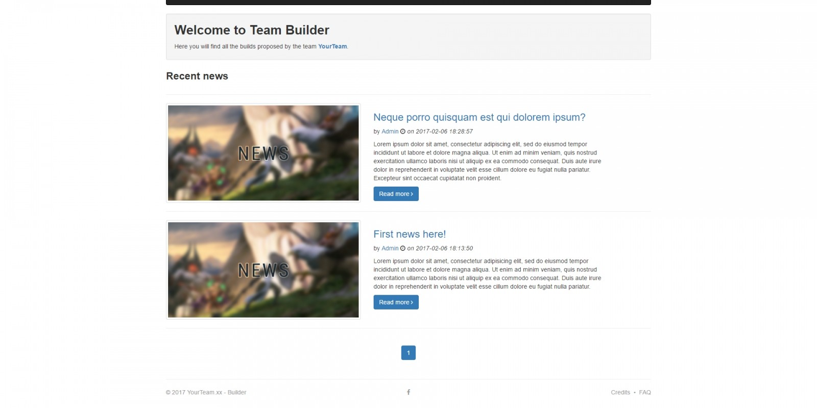 Team Builder - Gaming Clan And Team Management