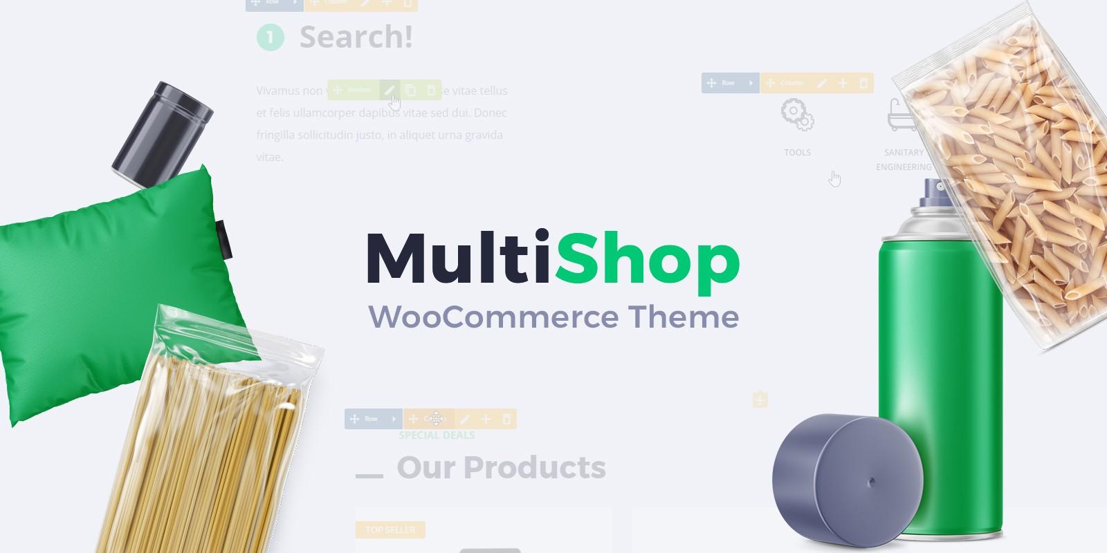 MultiShop - Universal WooCommerce Store Theme