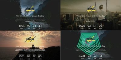 Coming Soon Landing Page Template Package