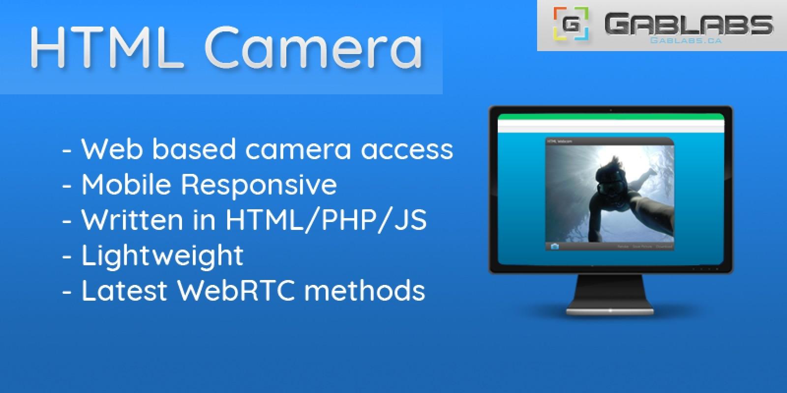 HTML Camera Webcam Viewer