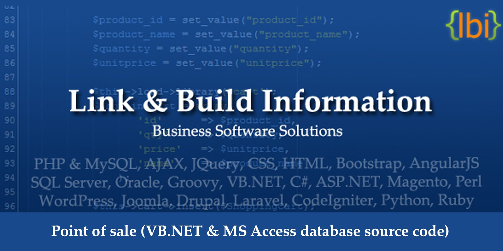 Point of Sale VB.NET Source Code